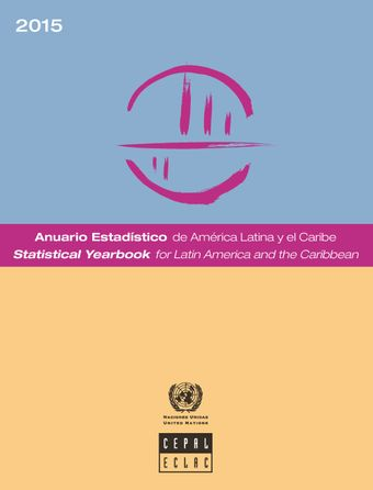 image of Statistical Yearbook for Latin America and the Caribbean 2015