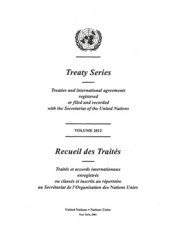 image of No. 33757. Convention on the Prohibition of the Development Production Stockpiling and Use of Chemical Weapons and on their Destruction. Opened for signature at Paris on 13 January 1993
