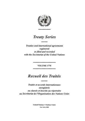 image of Treaty Series 1770