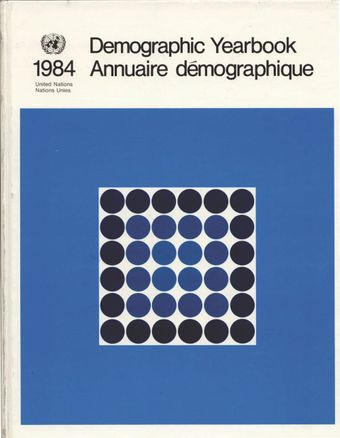 image of United Nations Demographic Yearbook 1984