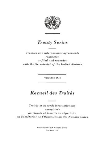 image of Treaty Series 1540