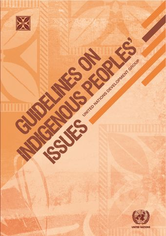 image of Guidelines on Indigenous Peoples' Issues