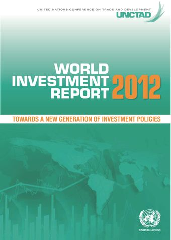 image of World Investment Report 2012