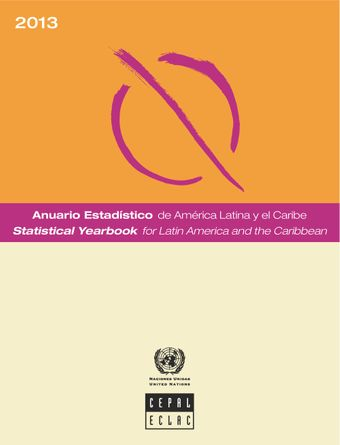 image of Statistical Yearbook for Latin America and the Caribbean 2013