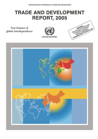 image of Trade and Development Report 2005