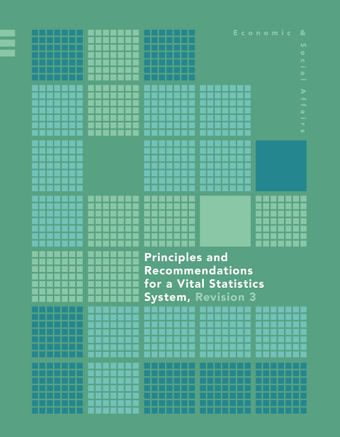image of Principles and Recommendations for a Vital Statistics System