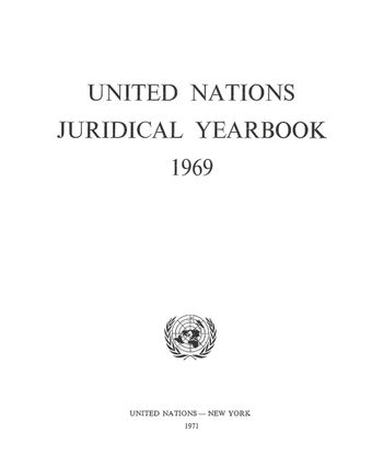 image of Legal Bibliography of the United Nations and Related Inter-Governmental Organizations