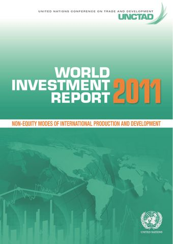 image of World Investment Report 2011