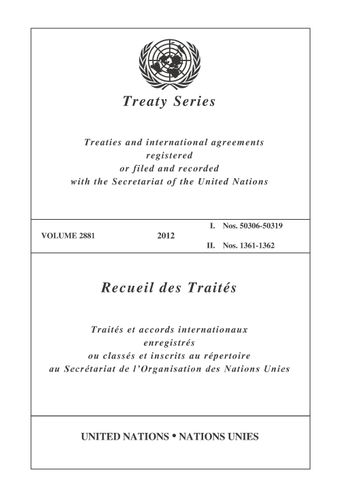 image of Treaty Series 2881