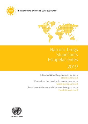 image of Consumption of the principal narcotic drugs and calculated consumption of buprenorphine, 2014–2018
