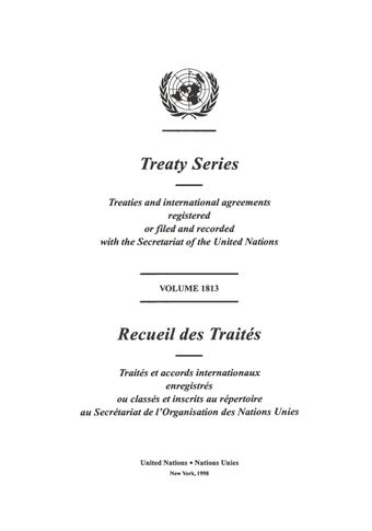 image of Treaty Series 1813