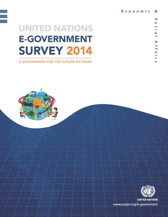 image of United Nations e-government survey 2014