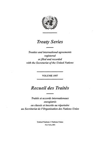 image of No. 33480. United Nations Convention to combat desertification in those countries experiencing serious drought and/or desertification, particularly in Africa. Opened for signature at Paris on 14 October 1994