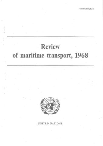 image of Review of Maritime Transport 1968
