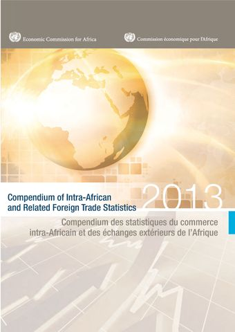 image of Compendium of Intra-African and Related Foreign Trade Statistics 2013