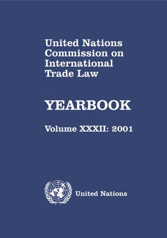 image of United Nations Commission on International Trade Law (UNCITRAL) Yearbook 2001