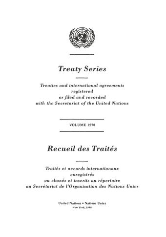 image of Treaties and international agreements filed and recorded from 24 July 1990 to 27 July 1990 No. 1038