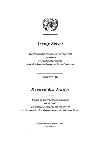 image of Treaty Series 1914