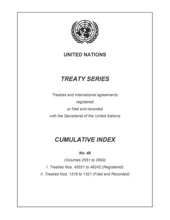 image of Treaty Series Cumulative Index No. 48