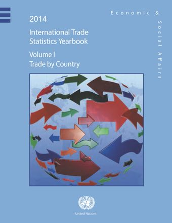 image of International Trade Statistics Yearbook 2013, Volume I