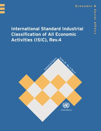 image of International Standard Industrial Classification of All Economic Activities (ISIC), Rev.4