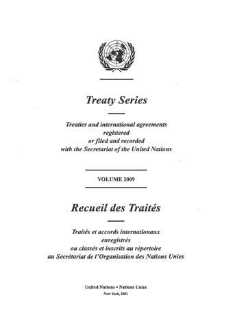 image of Treaty Series 2009