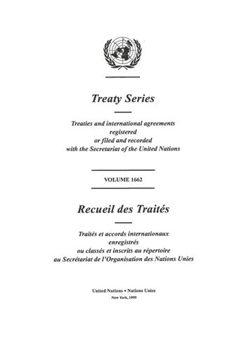 image of Treaty Series 1662