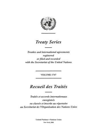 image of Treaty Series 1747