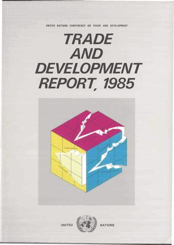 image of Trade and Development Report 1985