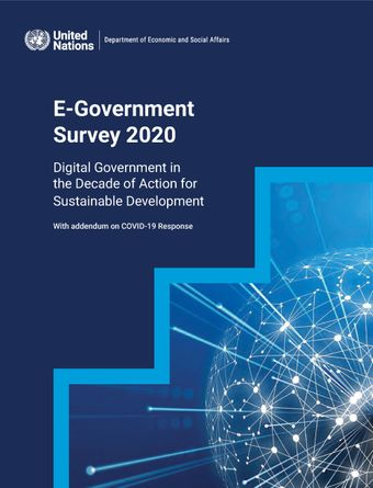image of United Nations E-Government Survey 2020
