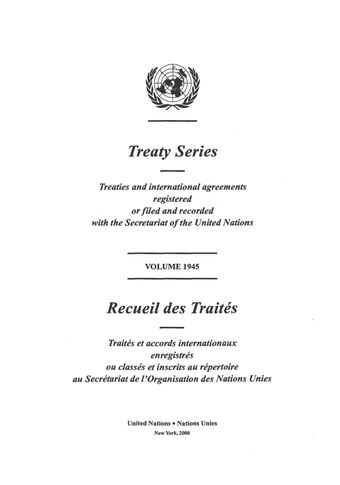 image of Treaty Series 1945