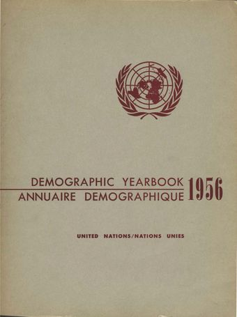 image of United Nations Demographic Yearbook 1956