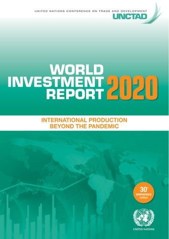 image of World Investment Report 2020