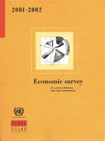 image of Economic Survey of Latin America and the Caribbean 2001-2002