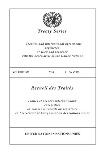 image of Treaty Series 2672