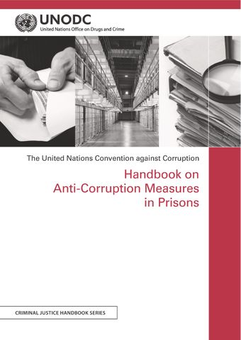 image of Handbook on Anti-Corruption Measures in Prisons