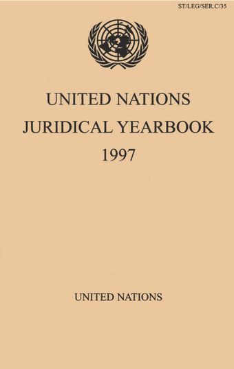 image of Decisions and advisory opinions of international tribunals