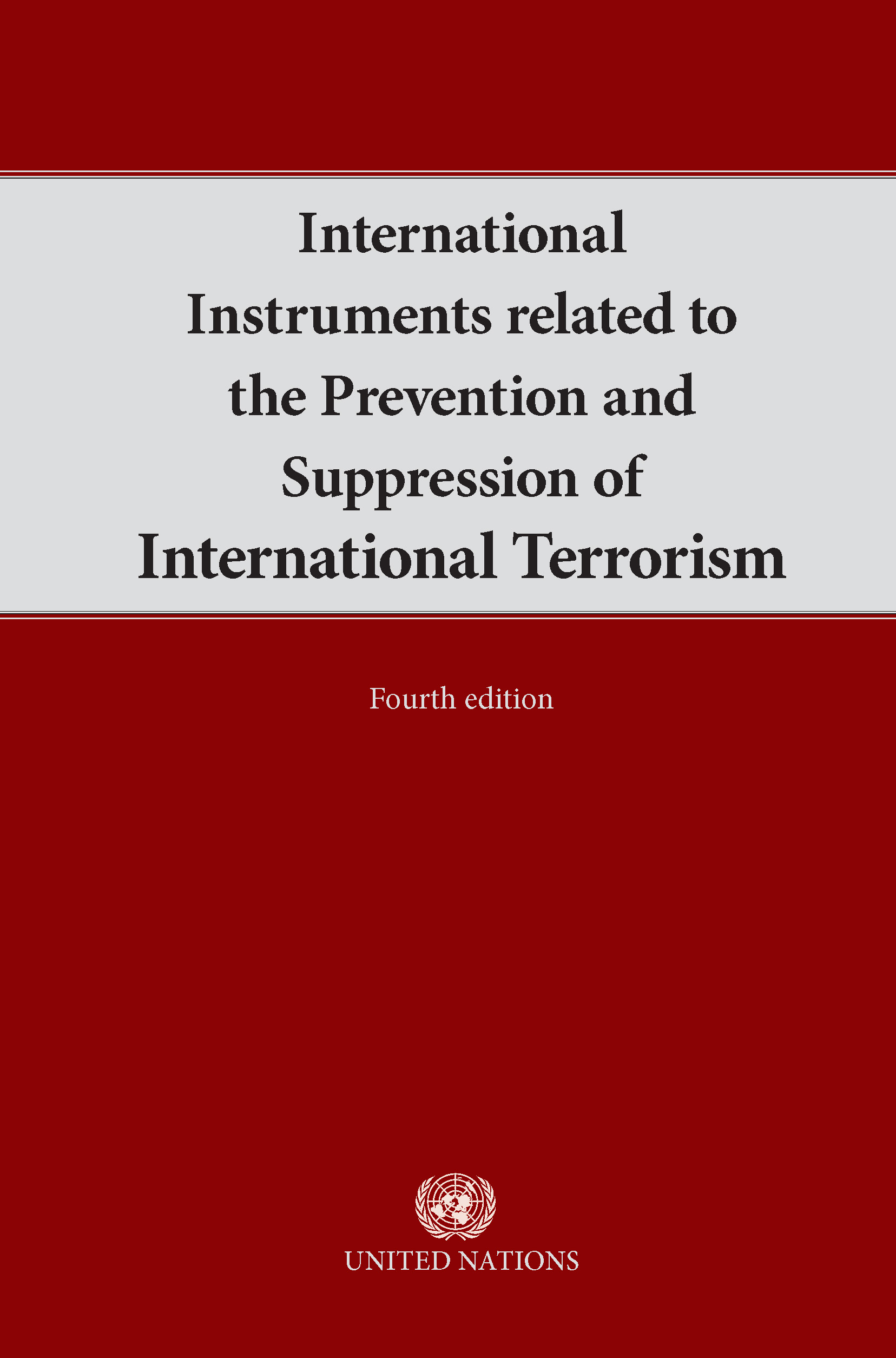 image of International Instruments Related to the Prevention and Suppression of International Terrorism