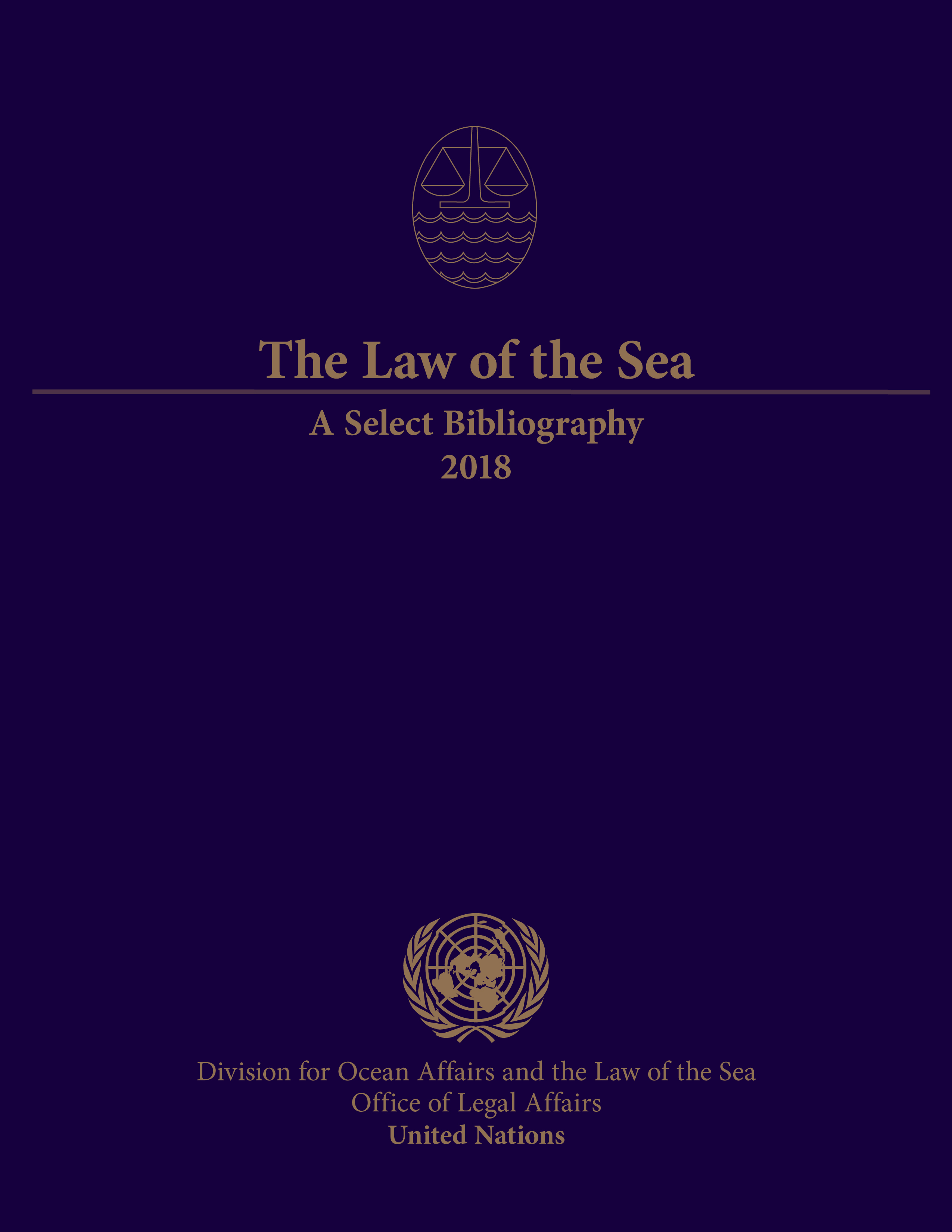 image of The Law of the Sea: A Select Bibliography 2018