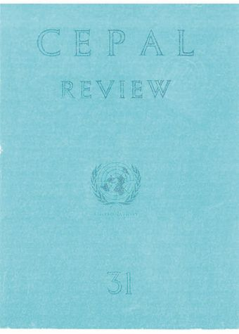 CEPAL Review No. 31, April 1987