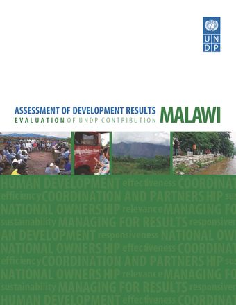 image of Assessment of Development Results - Malawi