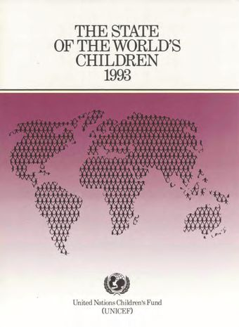 image of The state of the world's children 1993