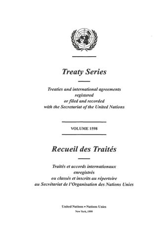 image of Ratifications, accessions, subsequent agreements, etc., concerning treaties and international agreements registered with the Secretariat of the United Nations