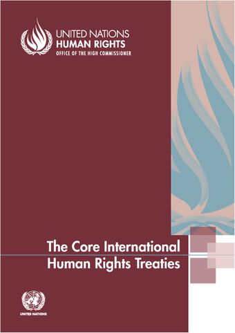 image of The core international human rights treaties