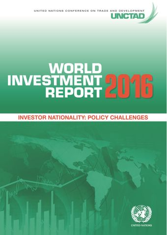 image of World Investment Report 2016