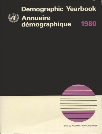 image of Special topics of the demographic yearbook series: 1948 - 1980