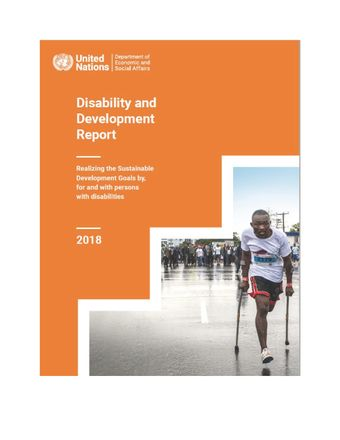 image of Disability and Development Report 2018