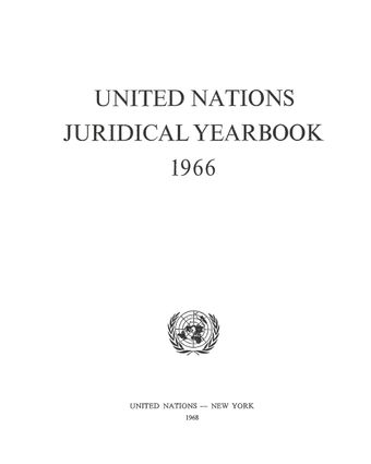 image of Decisions of international tribunals