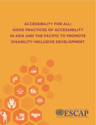 image of Good practices for promoting accessibility in Asia and the Pacific