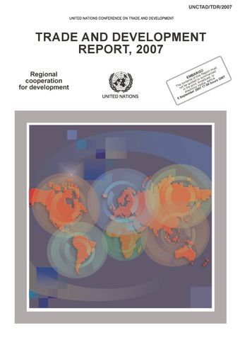 image of Trade and Development Report 2007